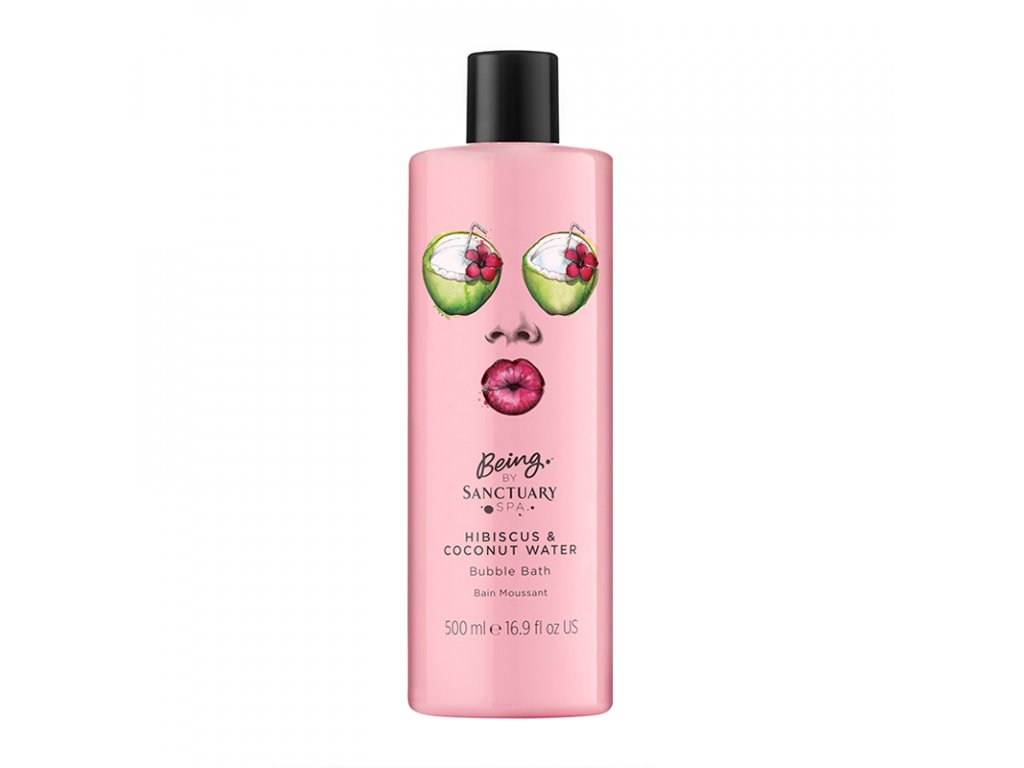 Being By Sanctuary Spa Hibiscus amp Coconut Water Bubble Bath 500ml 1508833658