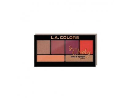 la colors la colors so cheeky blush highlighter ho
