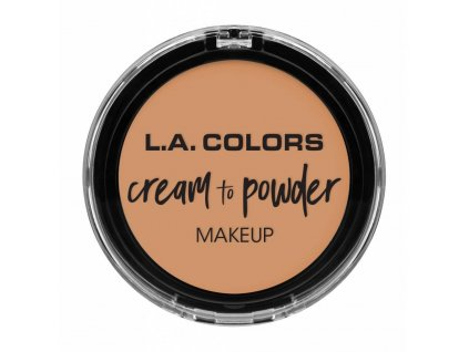 la colors la colors cream to powder foundation nat