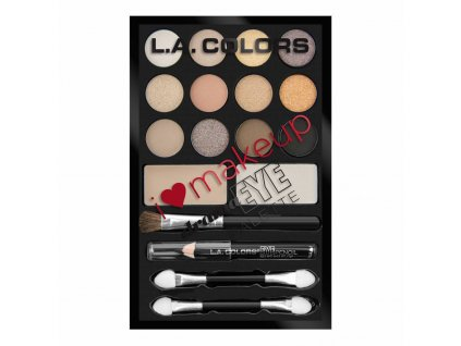la colors la colors i heart makeup eyeshadow palet
