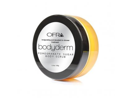 ofra cosmetics ofra pomegranate sugar body scrub
