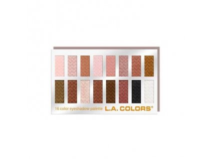 la colors la colors 16 color eyeshadow palette swe