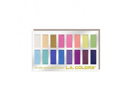 la colors la colors 16 color eyeshadow palette hau