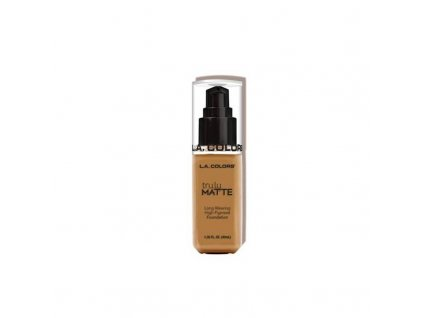 la colors la colors truly matte foundation cafe