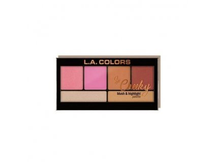 la colors la colors so cheeky blush highlighter pi