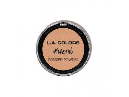LA COLORS - Minerální pudr odstín 374 SOFT HONEY