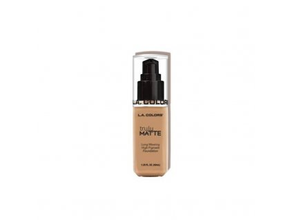 la colors la colors truly matte foundation soft be