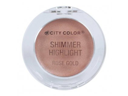 city color city color shimmer highlight rose gold