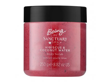 Being By Sanctuary Spa Hibiscus amp Coconut Water Body Scrub 250g 1508833599