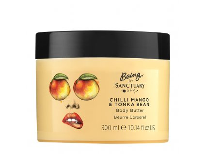 Being By Sanctuary Spa Chilli Mango amp Tonka Bean Body Butter 300ml 1508769765