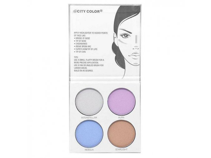 city color city color glow pro highlighting palett