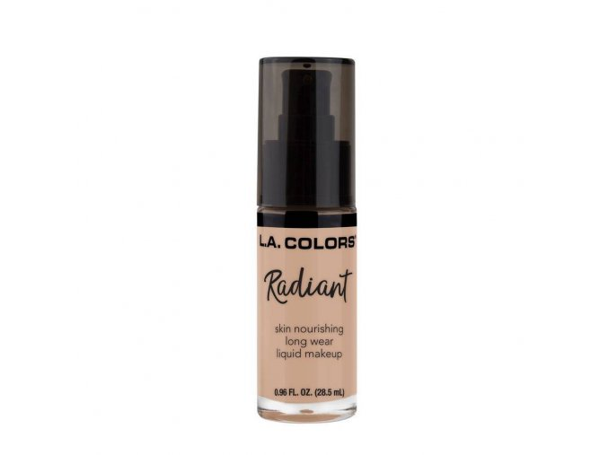 la colors la colors radiant liquid foundation beig