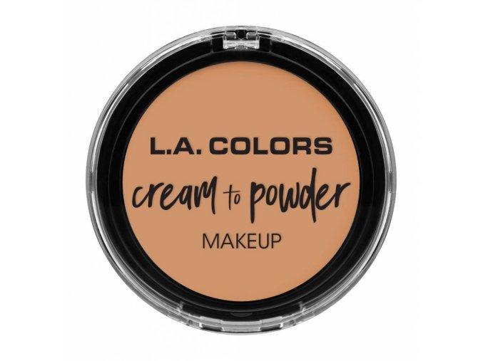 la colors la colors cream to powder foundation nat