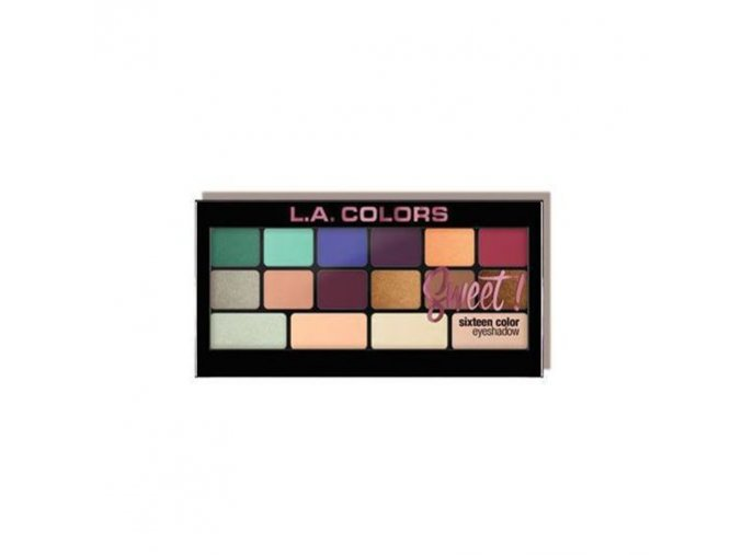 la colors la colors sweet 16 color eyeshadow playf