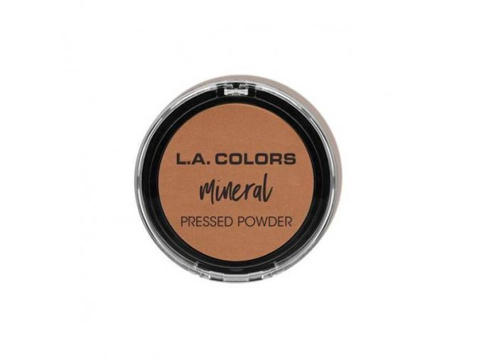la colors la colors mineral pressed powder toasted