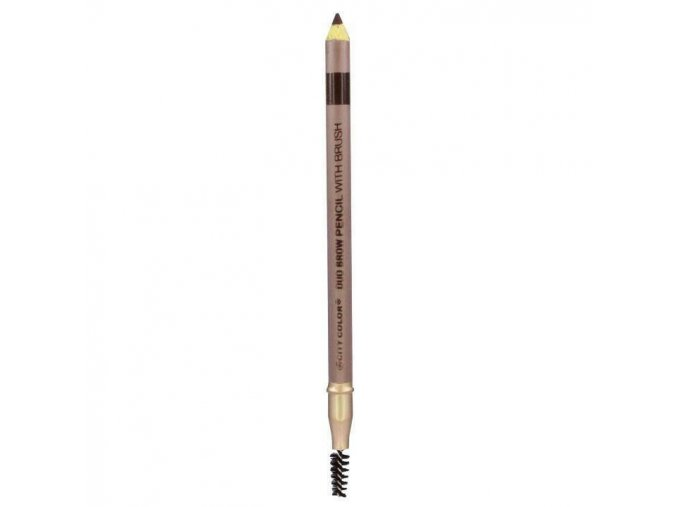 city color city color brow pencil with brush brune