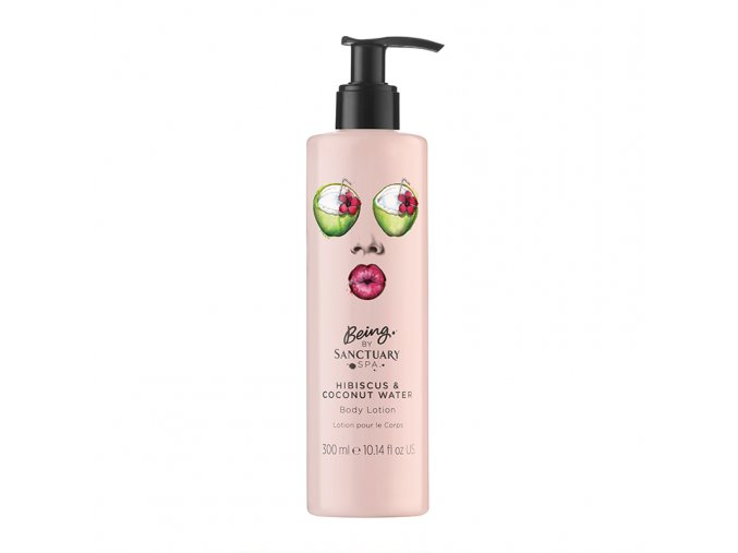 Being By Sanctuary Spa Hibiscus amp Coconut Water Body Lotion 300ml 1508770472