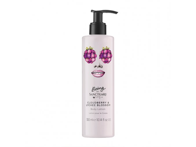Being By Sanctuary Spa Cloudberry amp Lychee Blossom Body Lotion 300ml 1508770159