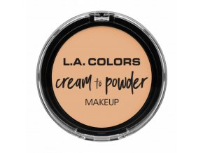 la colors la colors cream to powder foundation buf
