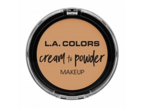 la colors la colors cream to powder foundation nud
