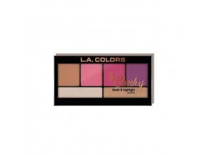 la colors la colors so cheeky blush highlighter sw