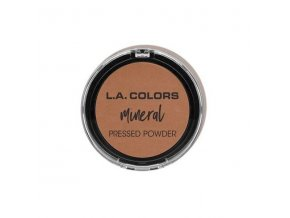 la colors la colors mineral pressed powder toffee