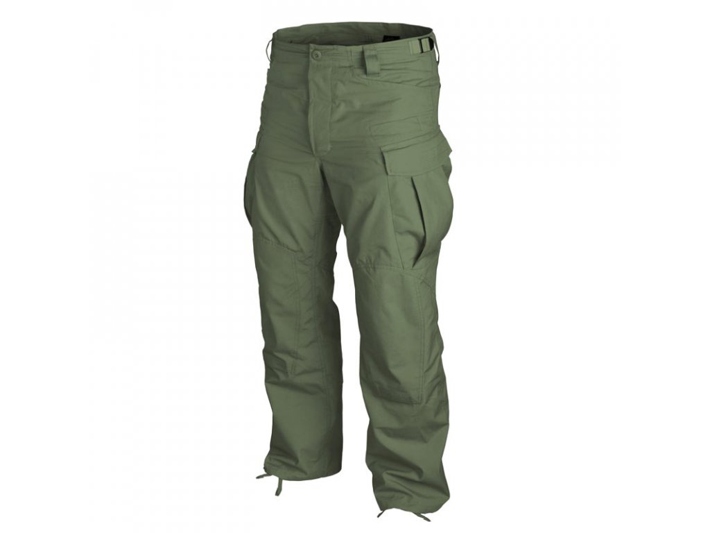 Kalhoty Helikon SFU NEXT rip-stop OLIVE GREEN Regular