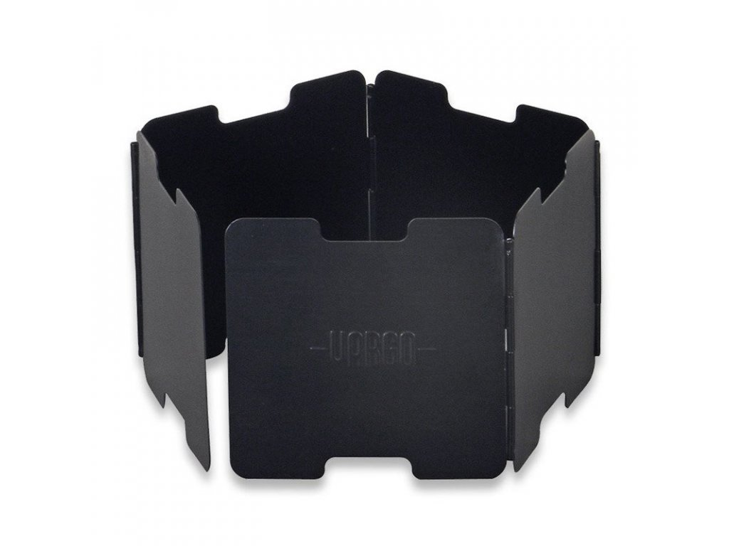 Závětří VARGO Aluminium Windscreen pro lihové vařiče - černé   38g