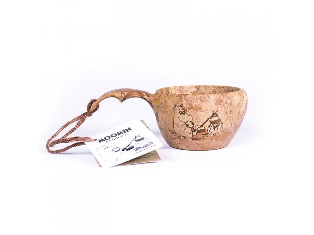 Kupilka KUKSA 210 ml - #OURSEA Moomin Coffee (BROWN)