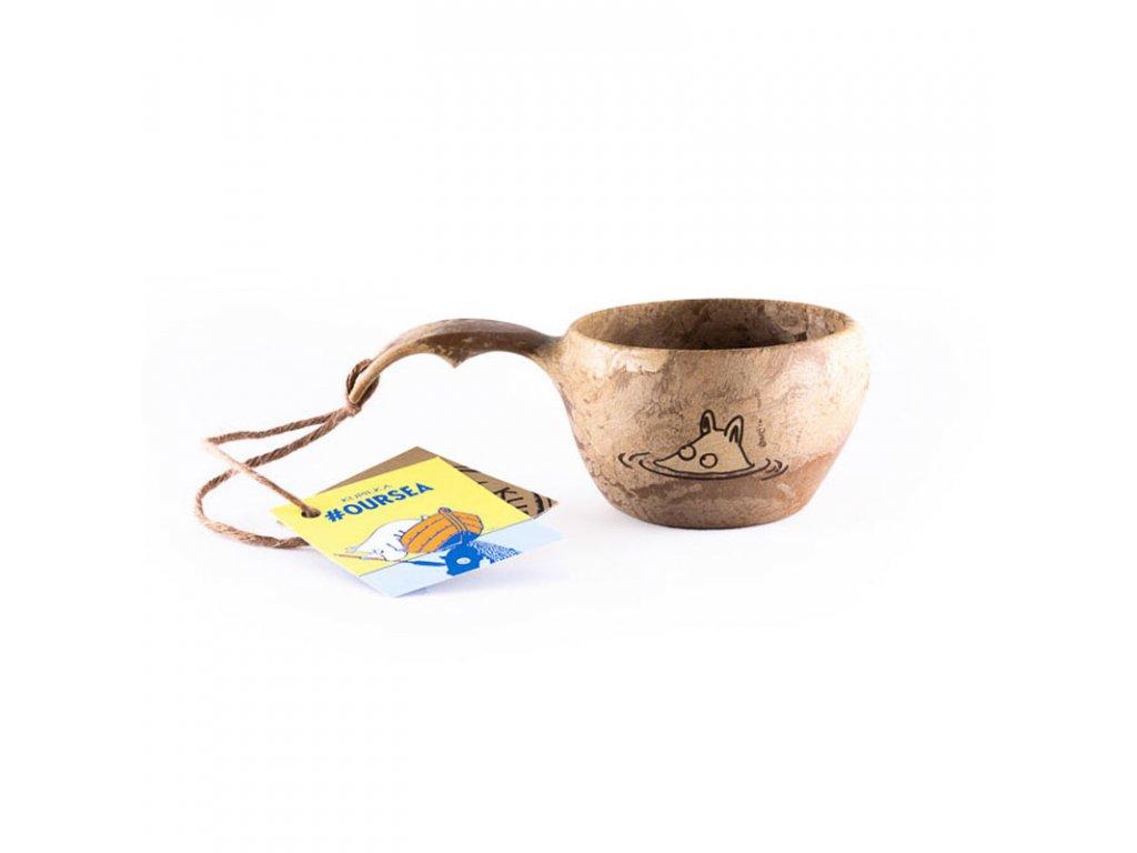 Kupilka KUKSA 210 ml - #OURSEA Moomin Original (BROWN)