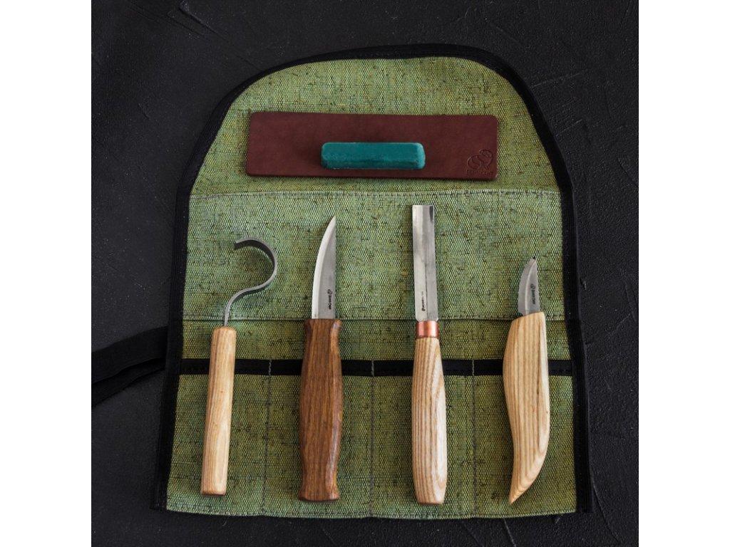 Řezbářský set BeaverCraft S43 - Spoon and Kuksa Carving Professional Set