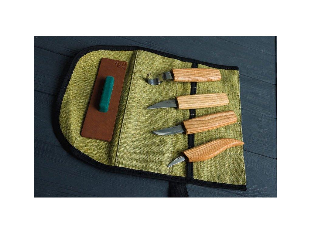 Řezbářský set BeaverCraft S48 - Wood Carving Tool Set for Spoon Carving