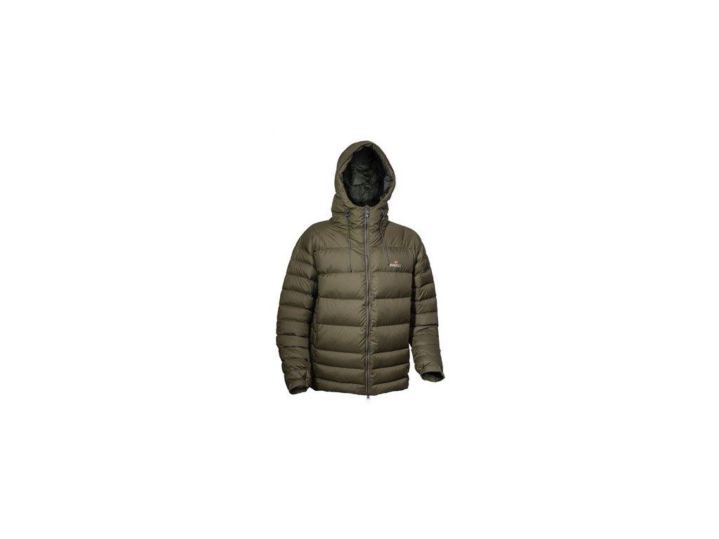 Péřová bunda WARMPEACE Alaskan - olive