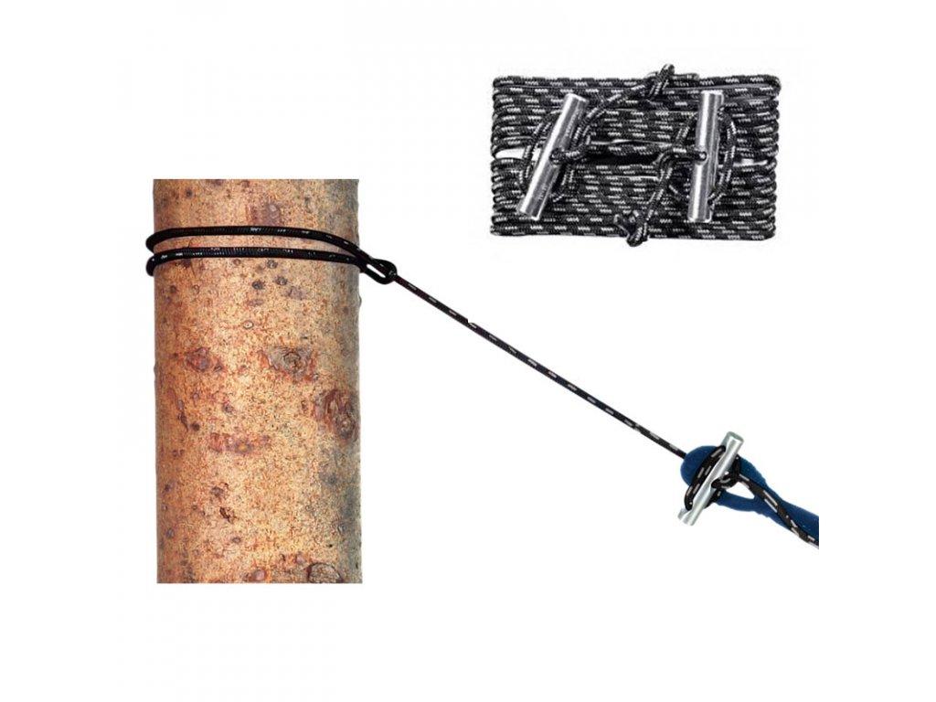 Lana k úvazu hamaky AMAZONAS Micro-Rope - 2 ks