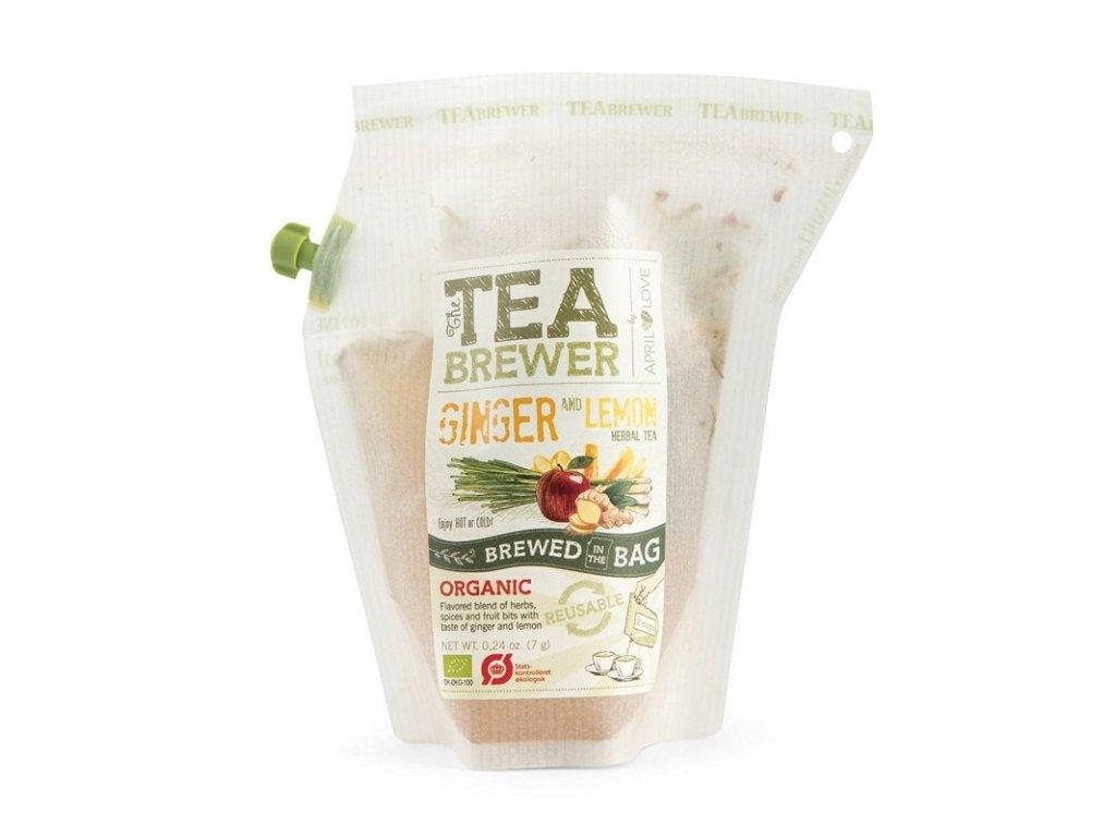 Grower's Cup Čaj - Ginger Lemon Tea