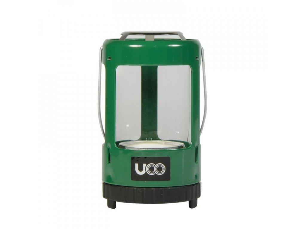 Lucerna na čajové svíčky UCO Mini Candle Lantern - Painted GREEN