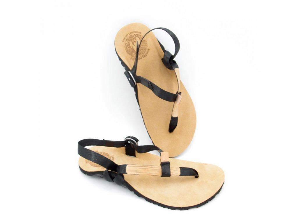 Barefoot sandály BOSKYshoes Light BUSHCRAFT Edition Leather