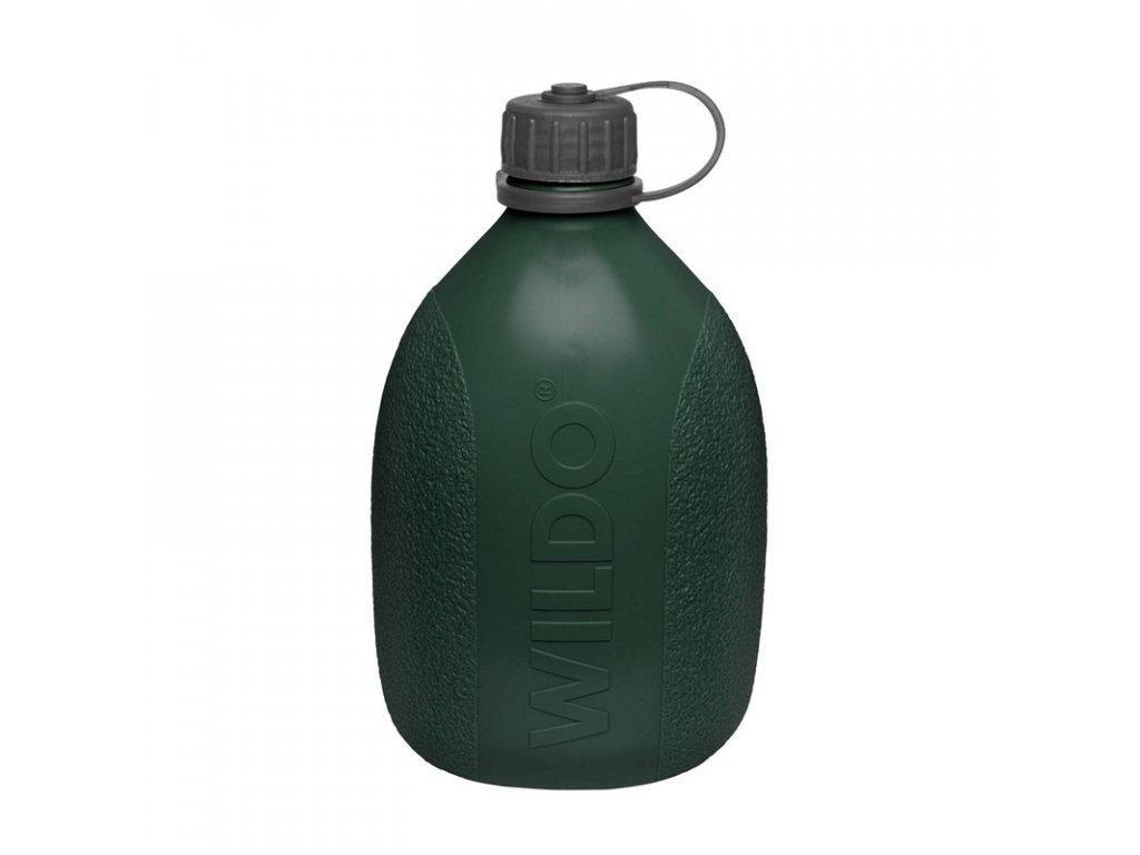 Láhev s karabinou Wildo Hiker Bottle 700ml - Olive Green