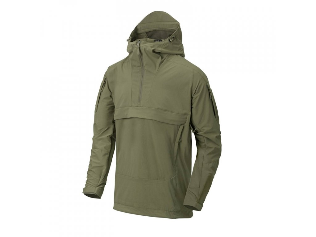 Anorak HELIKON MISTRAL Anorak Jacket - Soft Shell - ADAPTIVE GREEN