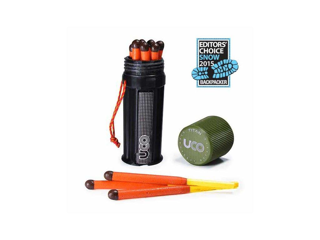 Zápalky UCO TITAN Stormproof Match Kit - 12 ks