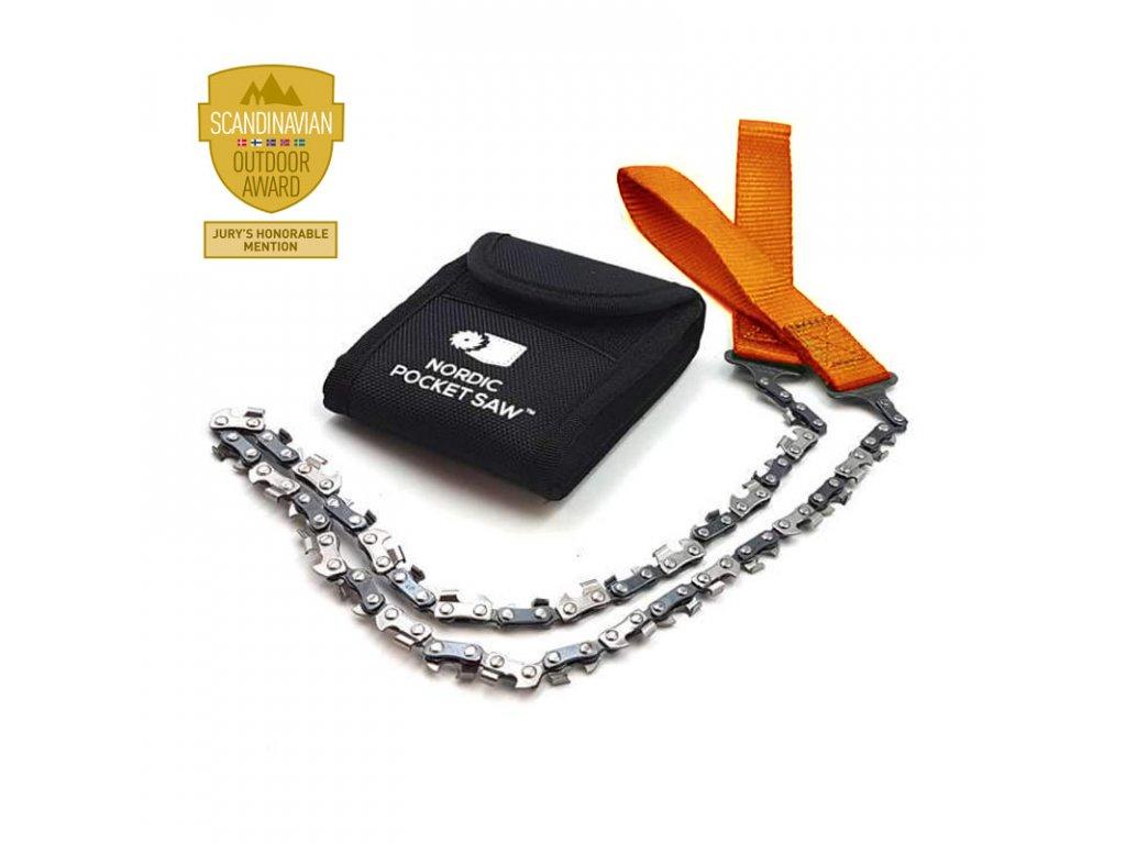 Kapesní řetězová pila Nordic Pocket Saw - Orange