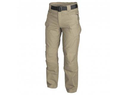 Kalhoty Helikon URBAN TACTICAL PANTS KHAKI rip-stop LONG