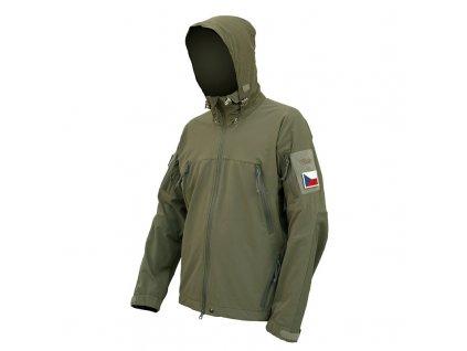 Softshellová bunda Tilak MiG Noshaq KHAKI