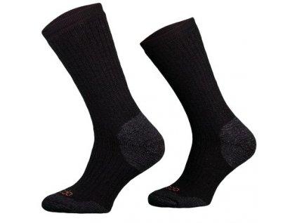 Ponožky COMODO TRE 11 - Merino - zimní treking - černé
