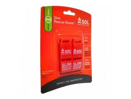 Píšťalka S.O.L. SLIM Rescue Howler - 2 ks