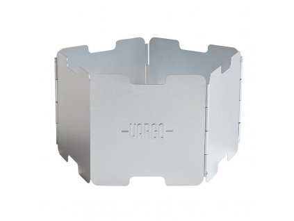 Závětří VARGO Aluminium Windscreen pro lihové vařiče - stříbrné   38g