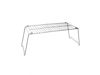Kempinkový gril BasicNature Folding Gril XL 60 x 30 cm