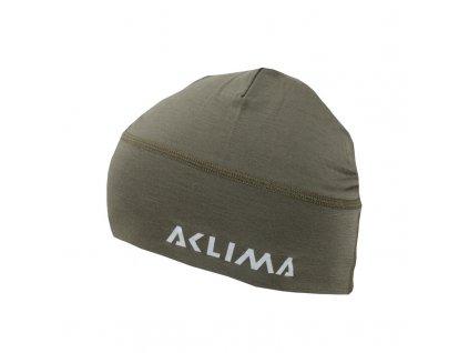 Čepice merino ACLIMA LightWool Beanie - Ranger Green