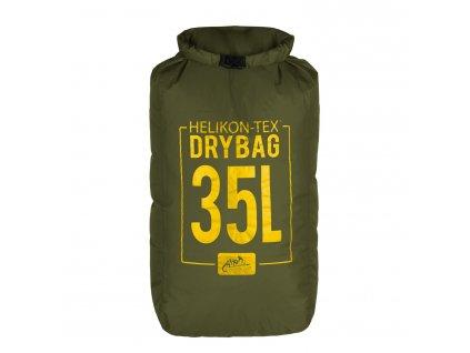 Voděodolný vak Helikon Arid Dry Sack Small 35l - Olive