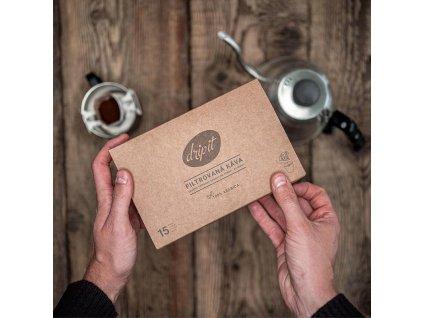 Káva ve filtru DRIP IT MIX kolekce 4 druhů káv - 15 ks